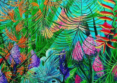 Rain Forest and Humming Birds